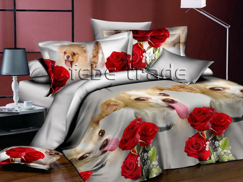 3D Beddings - Cotton World - Febe - MSP-901 - 160x200 cm - 3 pcs