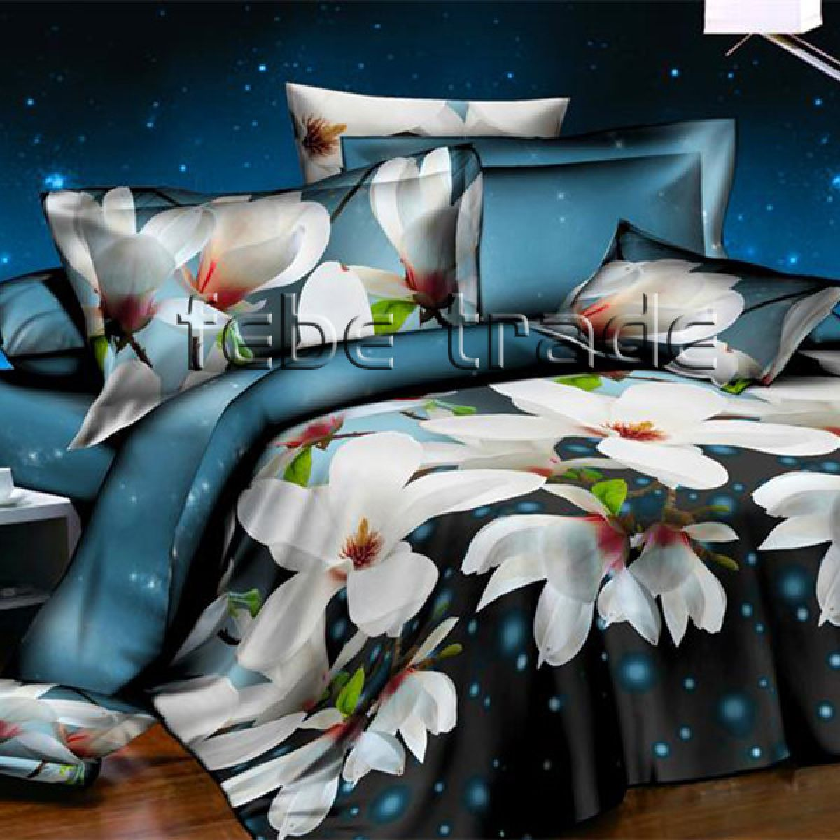 3D Beddings Plush - Cotton World - FSB-804 - 220x200 cm - 4 pcs