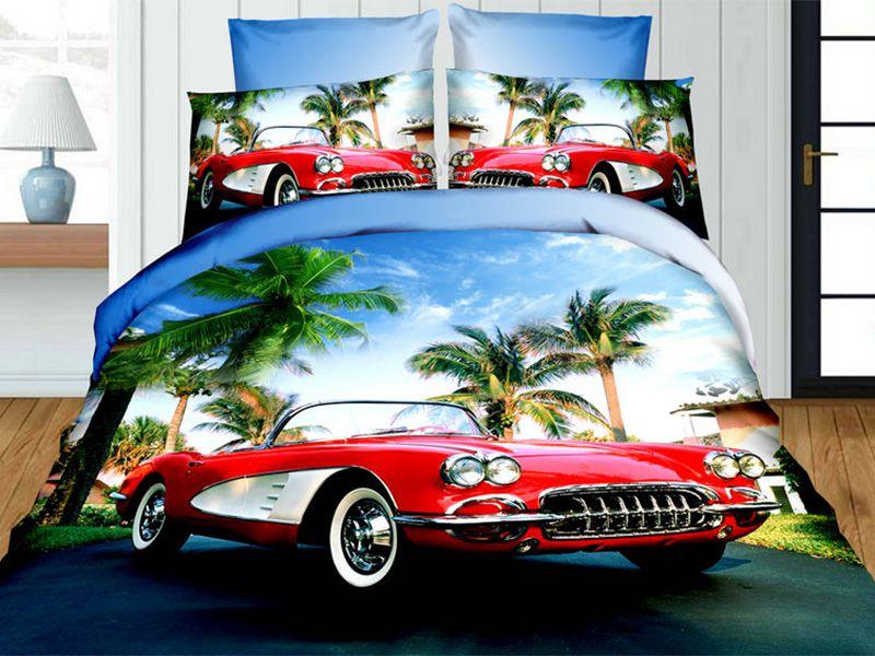 3D Beddings - Cotton World - FSC-342 - 160x200 cm - 3 pcs