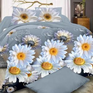 Pościel 3D - Cotton World - FSB-394 - 160x200 cm - 3 cz