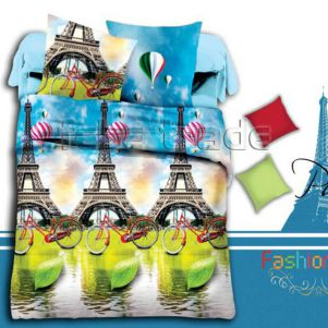 Pościel 3D - Cotton World - FSB-395 - 160x200 cm - 3 cz