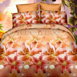 Pościel 3D - Cotton World - FSP-349 - 160x200 cm - 3 cz
