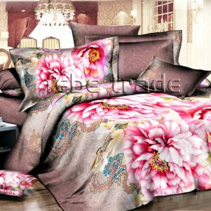 Pościel 3D - Cotton World - FSP-340 - 180x200 cm - 3 cz