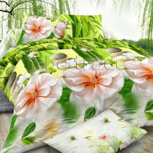 Pościel 3D - Cotton World - FSP-349 - 180x200 cm - 3 cz