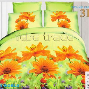 Pościel 3D - Cotton World - FSP-341 - 220x200 cm - 3 cz