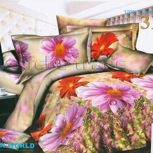 Pościel 3D - Cotton World - FSP-341 - 220x200 cm - 3 cz