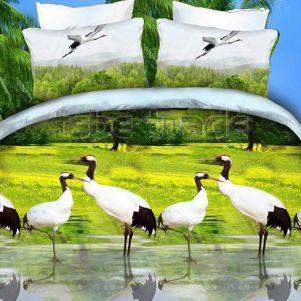 Pościel 3D - Cotton World - FSP-710 - 220x200 cm - 3 cz