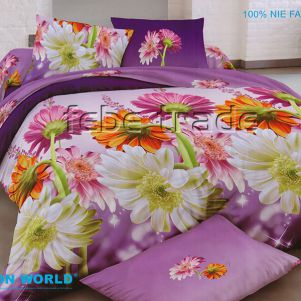 Pościel 3D - Cotton World - FSP-740 - 220x200 cm - 4 cz