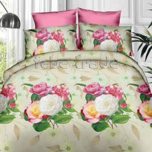 Pościel 3D - Cotton World - FSB-362 - 160x200 cm - 4 cz