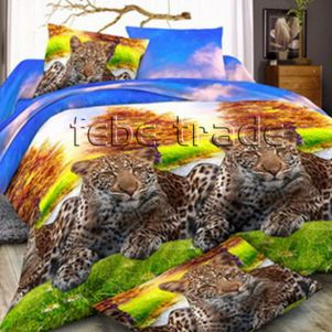 Pościel 3D - Cotton World - FSB-2003 - 180x200 cm - 4 cz