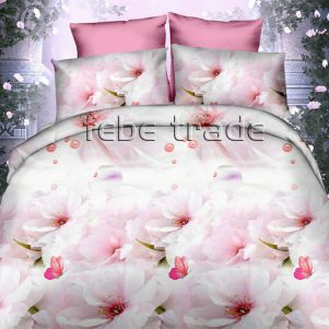 Pościel 3D - Cotton World - FSB-361 - 220x200 cm - 3 cz