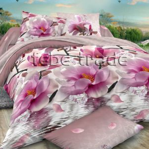 Pościel 3D - Cotton World - FST-351 - 160x200 cm - 4 cz