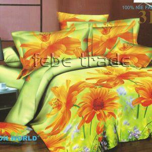 Pościel 3D - Cotton World - FST-303 - 180x200 cm - 4 cz