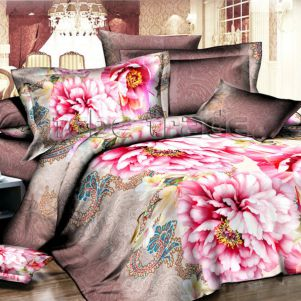 Pościel 3D - Cotton World - FST-386 - 220x200 cm - 3 cz