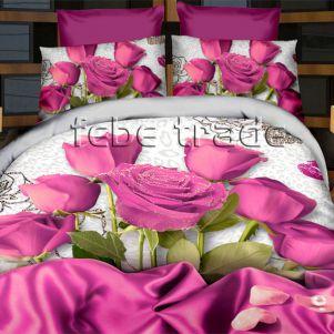 Pościel 3D - Cotton World - FPW-355 - 160x200 cm - 4 cz