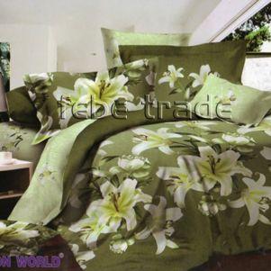 Pościel Bawełniana - Cotton World - LX-302 - 160x200 cm - 4 cz
