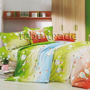 Pościel Bawełniana - Cotton World - XW-065 - 160x200 cm - 3 cz