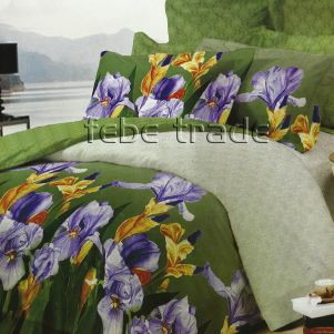 Pościel Bawełniana - Cotton World - XW-108 - 160x200 cm - 4 cz