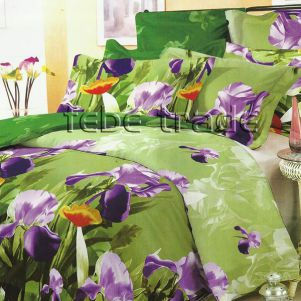 Pościel Bawełniana - Cotton World - XW-109 - 220x200 cm - 6 cz