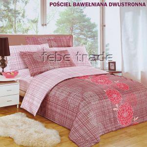 Pościel Bawełniana - Cotton World - LW-142 - 160x200 cm - 4 cz