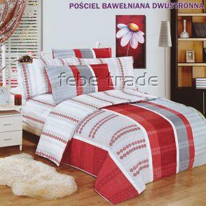 Pościel Bawełniana - Cotton World - LW-142 - 160x200 cm - 3 cz