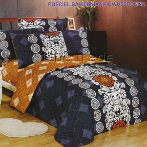 Pościel Bawełniana - Cotton World - LW-144 - 160x200 cm - 3 cz