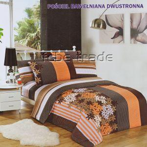 Pościel Bawełniana - Cotton World - LW-146 - 160x200 cm - 4 cz
