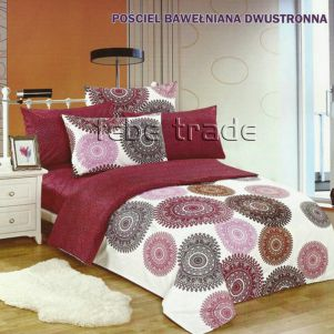 Pościel Bawełniana - Cotton World - LW-170 - 160x200 cm - 4 cz