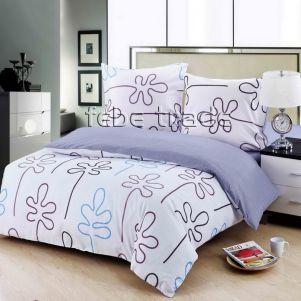 Pościel Bawełniana - Cotton World - LW-301 - 160x200 cm - 4 cz