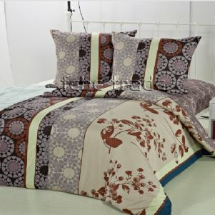 Pościel Bawełniana - Cotton World - LW-401 - 160x200 cm - 3 cz