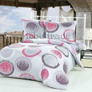 Pościel Bawełniana - Cotton World - LW-402 - 160x200 cm - 3 cz