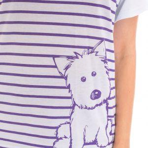 Piżama damska LEMON BK4136
