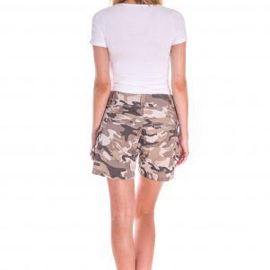Spodnie damskie krótkie - SZORTY MORO  SUCCESS (FA900)