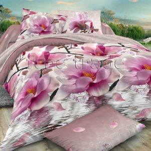 Pościel 3D - Cotton World - FST-352 - 160x200 cm - 3 cz