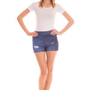 Spodnie damskie krótkie - SZORTY BENTER 16017