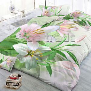 Pościel 3D - Cotton World - FSB-2010 - 160x200 cm - 3 cz