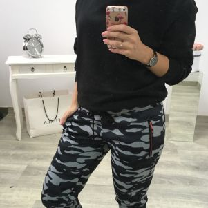 Spodnie damskie Epister - MORO 57601
