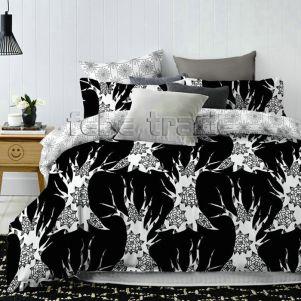 Pościel Bawełniana - Cotton World - QM-318 - 160x200 cm - 4 cz