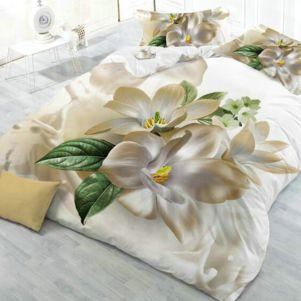 Pościel 3D - Cotton World - FSB-611 - 160x200 cm - 3 cz