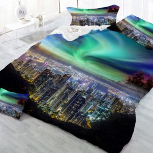 Pościel 3D - Cotton World - MSB-923 - 160x200 cm - 3 cz