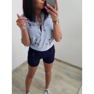 Spodnie damskie krótkie - Szorty Epister 57753