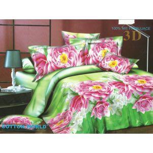 Pościel 3D - Cotton World - FSC-357 - 160x200 cm - 3 cz
