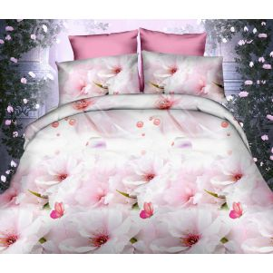 Pościel 3D - Cotton World - FSC-368 - 160x200 cm - 3 cz