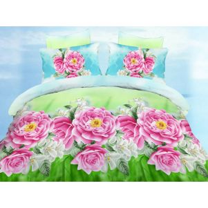 Pościel 3D - Cotton World - FSP-340 - 180x200 cm - 4 cz