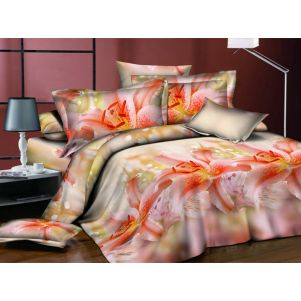 Pościel 3D - Cotton World - FSB-308 - 180x200 cm - 4 cz