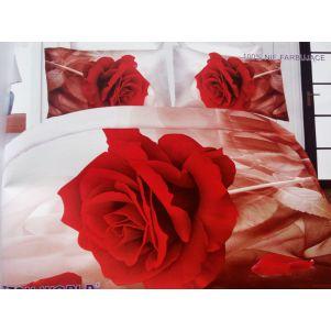 Pościel 3D - Cotton World - FST-472 - 160x200 cm - 5 cz