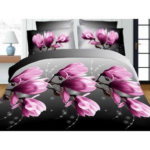 Pościel 3D - Cotton World - FST-1711 - 180x200 cm - 3 cz