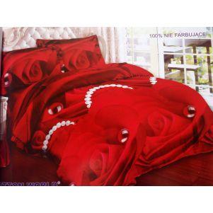 Pościel 3D - Cotton World - FST-472 - 180x200 cm - 3 cz