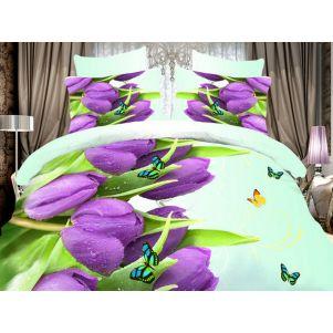 Pościel 3D - Cotton World - FST-350 - 180x200 cm - 3 cz