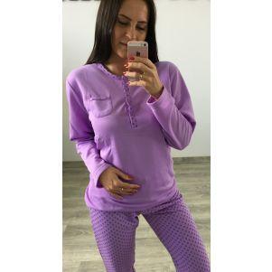 Piżama damska Valerie Dream OCIEPLANA - DK8341